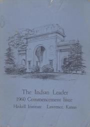 1960 Edition, Haskell Indian Nations University - Indian Leader Yearbook (Lawrence, KS)