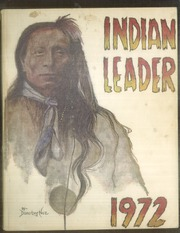 1972 Edition, Haskell Indian Nations University - Indian Leader Yearbook (Lawrence, KS)