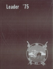 1975 Edition, Haskell Indian Nations University - Indian Leader Yearbook (Lawrence, KS)