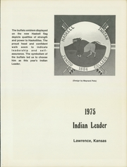 Page 5, 1975 Edition, Haskell Indian Nations University - Indian Leader Yearbook (Lawrence, KS) online yearbook collection