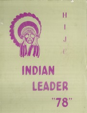 1978 Edition, Haskell Indian Nations University - Indian Leader Yearbook (Lawrence, KS)