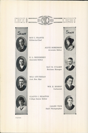 Page 16, 1920 Edition, McPherson College - Quadrangle Yearbook (McPherson, KS) online yearbook collection