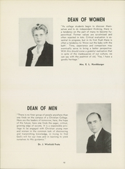 Page 16, 1948 Edition, Bethel College - Graymaroon Yearbook (North Newton, KS) online yearbook collection