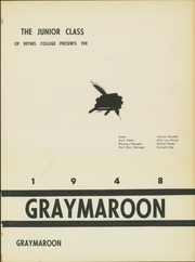 Page 5, 1948 Edition, Bethel College - Graymaroon Yearbook (North Newton, KS) online yearbook collection