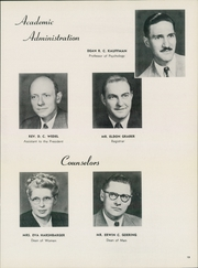 Page 17, 1950 Edition, Bethel College - Graymaroon Yearbook (North Newton, KS) online yearbook collection