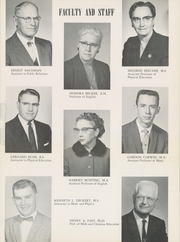 Page 13, 1960 Edition, Bethel College - Graymaroon Yearbook (North Newton, KS) online yearbook collection