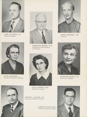 Page 15, 1960 Edition, Bethel College - Graymaroon Yearbook (North Newton, KS) online yearbook collection