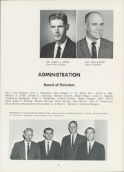Page 11, 1962 Edition, Bethel College - Graymaroon Yearbook (North Newton, KS) online yearbook collection