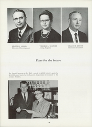 Page 12, 1962 Edition, Bethel College - Graymaroon Yearbook (North Newton, KS) online yearbook collection