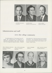 Page 13, 1962 Edition, Bethel College - Graymaroon Yearbook (North Newton, KS) online yearbook collection