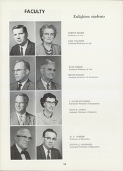 Page 14, 1962 Edition, Bethel College - Graymaroon Yearbook (North Newton, KS) online yearbook collection