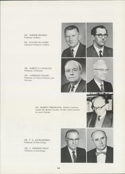 Page 17, 1962 Edition, Bethel College - Graymaroon Yearbook (North Newton, KS) online yearbook collection