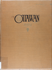 1919 Edition, Ottawa University - Ottawan Yearbook (Ottawa, KS)