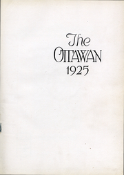 Page 2, 1925 Edition, Ottawa University - Ottawan Yearbook (Ottawa, KS) online yearbook collection