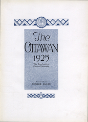 Page 4, 1925 Edition, Ottawa University - Ottawan Yearbook (Ottawa, KS) online yearbook collection
