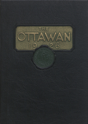 1926 Edition, Ottawa University - Ottawan Yearbook (Ottawa, KS)