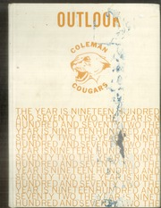 Page 1, 1972 Edition, Coleman Middle School - Outlook Yearbook (Wichita, KS) online yearbook collection