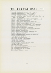 Page 130, 1921 Edition, Friends University - Talisman Yearbook (Wichita, KS) online yearbook collection