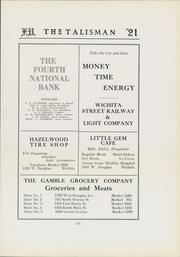Page 133, 1921 Edition, Friends University - Talisman Yearbook (Wichita, KS) online yearbook collection