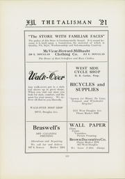 Page 136, 1921 Edition, Friends University - Talisman Yearbook (Wichita, KS) online yearbook collection