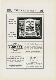 Page 139, 1921 Edition, Friends University - Talisman Yearbook (Wichita, KS) online yearbook collection