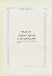 Page 10, 1922 Edition, Friends University - Talisman Yearbook (Wichita, KS) online yearbook collection