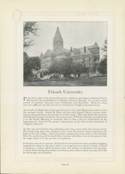 Page 10, 1924 Edition, Friends University - Talisman Yearbook (Wichita, KS) online yearbook collection