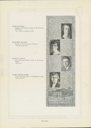 Page 17, 1924 Edition, Friends University - Talisman Yearbook (Wichita, KS) online yearbook collection