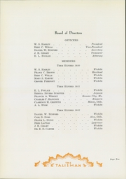 Page 14, 1930 Edition, Friends University - Talisman Yearbook (Wichita, KS) online yearbook collection