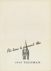 Page 7, 1946 Edition, Friends University - Talisman Yearbook (Wichita, KS) online yearbook collection