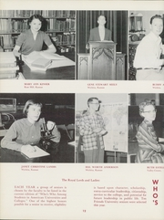 Page 16, 1957 Edition, Friends University - Talisman Yearbook (Wichita, KS) online yearbook collection