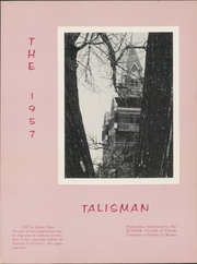 Page 5, 1957 Edition, Friends University - Talisman Yearbook (Wichita, KS) online yearbook collection