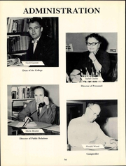 Page 22, 1959 Edition, Friends University - Talisman Yearbook (Wichita, KS) online yearbook collection
