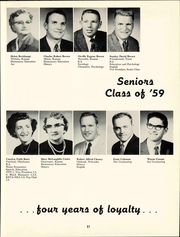 Page 27, 1959 Edition, Friends University - Talisman Yearbook (Wichita, KS) online yearbook collection