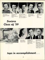 Page 28, 1959 Edition, Friends University - Talisman Yearbook (Wichita, KS) online yearbook collection