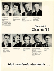 Page 31, 1959 Edition, Friends University - Talisman Yearbook (Wichita, KS) online yearbook collection