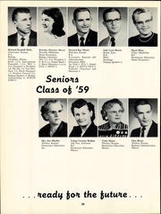 Page 34, 1959 Edition, Friends University - Talisman Yearbook (Wichita, KS) online yearbook collection