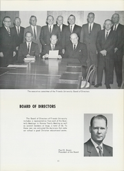 Page 17, 1964 Edition, Friends University - Talisman Yearbook (Wichita, KS) online yearbook collection