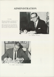 Page 7, 1970 Edition, Horace Mann Middle School - Twister Yearbook (Wichita, KS) online yearbook collection