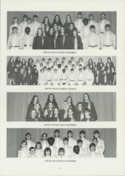 Page 17, 1972 Edition, John Marshall Middle School - Thunderbird Yearbook (Wichita, KS) online yearbook collection