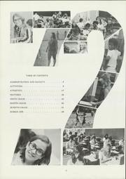 Page 6, 1972 Edition, John Marshall Middle School - Thunderbird Yearbook (Wichita, KS) online yearbook collection