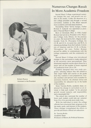 Page 13, 1972 Edition, Newman University - Heart Yearbook (Wichita, KS) online yearbook collection