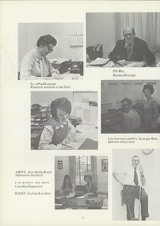 Page 16, 1972 Edition, Newman University - Heart Yearbook (Wichita, KS) online yearbook collection
