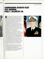 Page 11, 1986 Edition, Blue Ridge (LCC 19) - Naval Cruise Book online yearbook collection