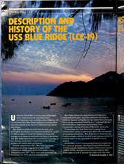 Page 6, 1986 Edition, Blue Ridge (LCC 19) - Naval Cruise Book online yearbook collection