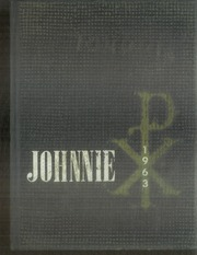 Page 1, 1963 Edition, St Johns College - Johnnie Yearbook (Winfield, KS) online yearbook collection