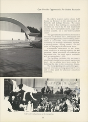 Page 17, 1963 Edition, St Johns College - Johnnie Yearbook (Winfield, KS) online yearbook collection