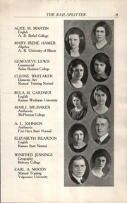 Page 11, 1922 Edition, Roosevelt Lincoln Middle School - Yearbook (Salina, KS) online yearbook collection