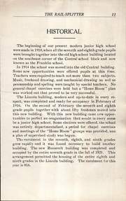 Page 13, 1922 Edition, Roosevelt Lincoln Middle School - Yearbook (Salina, KS) online yearbook collection