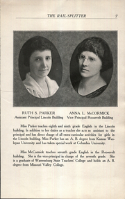 Page 9, 1922 Edition, Roosevelt Lincoln Middle School - Yearbook (Salina, KS) online yearbook collection